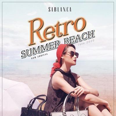 RETRO SUMMER BEACH - Xu hướng cổ điển trong thời trang hiện đại