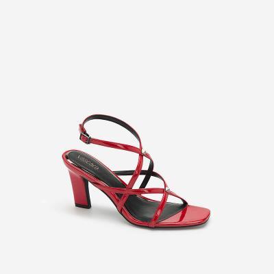 Giày Skinny Strap Đính Kim Loại - SDN0675